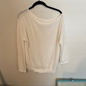 SHEIN cold shoulder sweater SIZE L